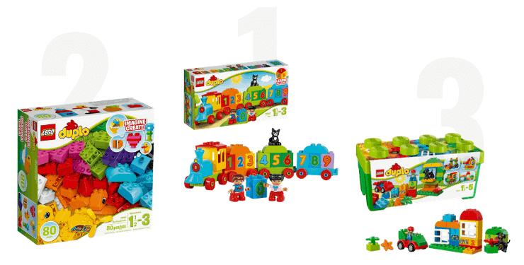 LEGO DUPLO für Mädchen ab 1 Jahr im Vergleich