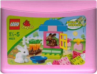 LEGO Duplo Steine & Co. 4623 - Mädchen-Steinebox