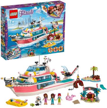 LEGO Friends - Boot für Rettungsaktionen, Bauset