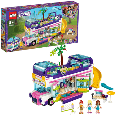 LEGO Friends Freundschaftsbus mit Bordpool und Rutsche