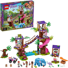 LEGO Friends Tierrettungsstation im Dschungel Bauset mit Baumhaus-Tierarztpraxis