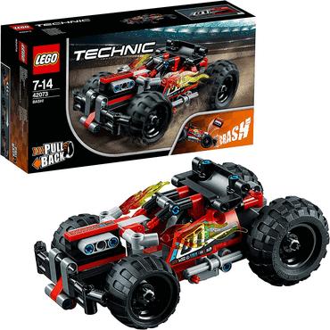 Womit spielen 7/8-jährige Jungs - LEGO Technic Rückziehauto