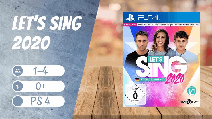 Let's Sing 2020 - Playstation 4 spiele Frauen