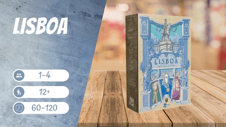 Lisboa Brettspiel