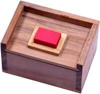 Holzspiele für Erwachsene - Logoplay Holzspiele - Der rote Stein