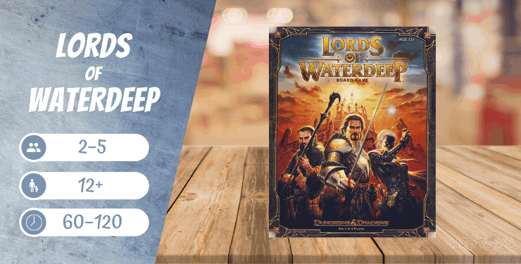 Lords of Waterdeep Spiel