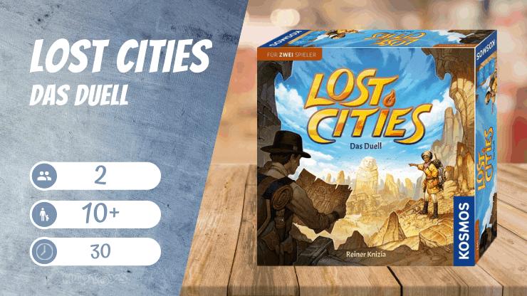 Lost Cities - Das Duell Brettspiel