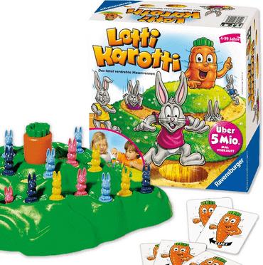 Lotti Karotti Brettspiel für Kinder