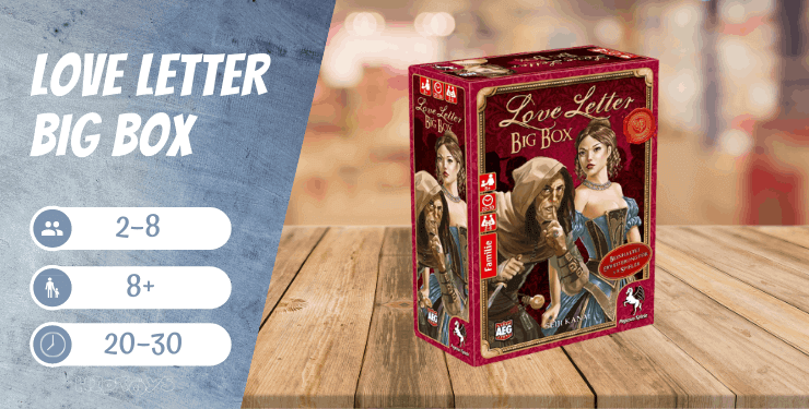 Love Letter Big Box Spiel