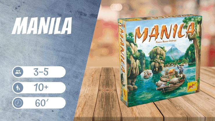 Manila Brettspiel