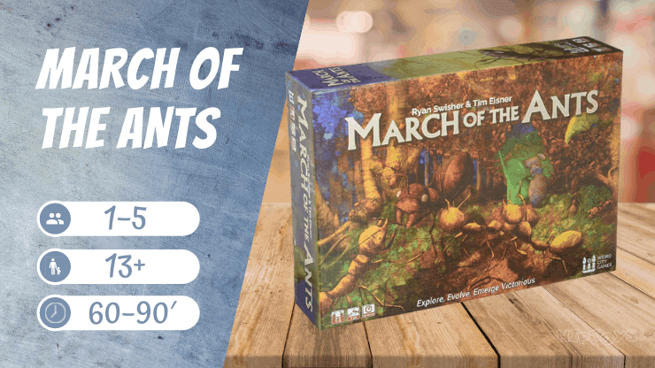 March of the Ants Brettspiel