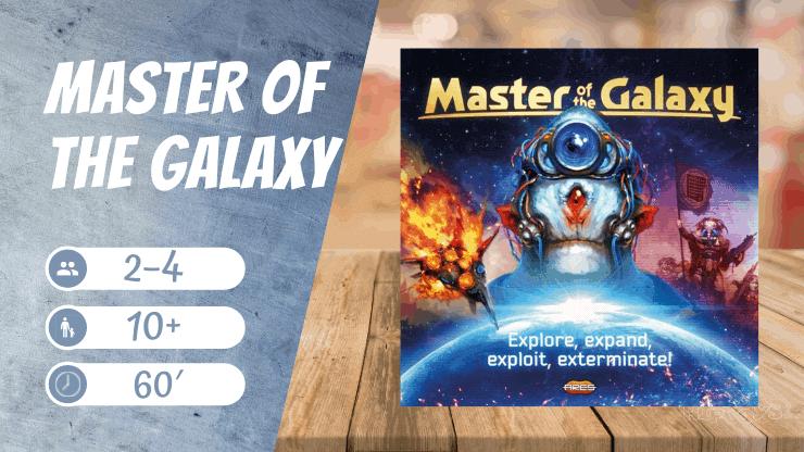 Master of The Galaxy Brettspiel