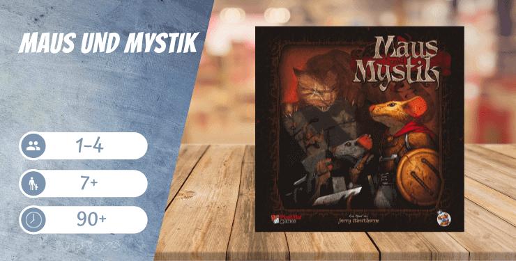Maus und Mystik Spiel-Empfehlung - Brettspiele wie Descent