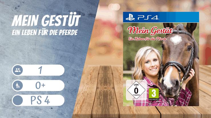 Mein Gestüt – Ein Leben für die Pferde - Mädchen Spiele für Ps4