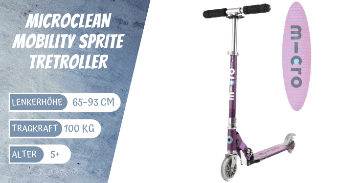 MicroClean Mobility Sprite Tretroller