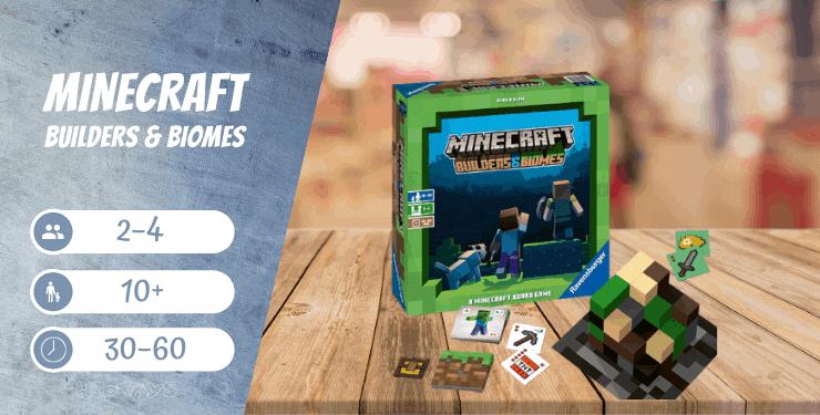 Minecraft Builders & Biomes Spiel
