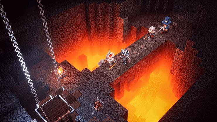 Minecraft Dungeons – Hero Edition - PS4 Spiel