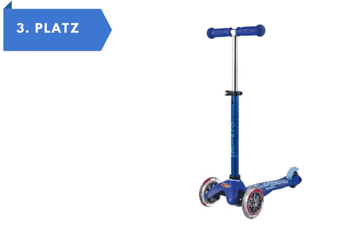 Mini Micro Deluxe Variante Blue - Tretroller für Kinder ab 3 Jahren