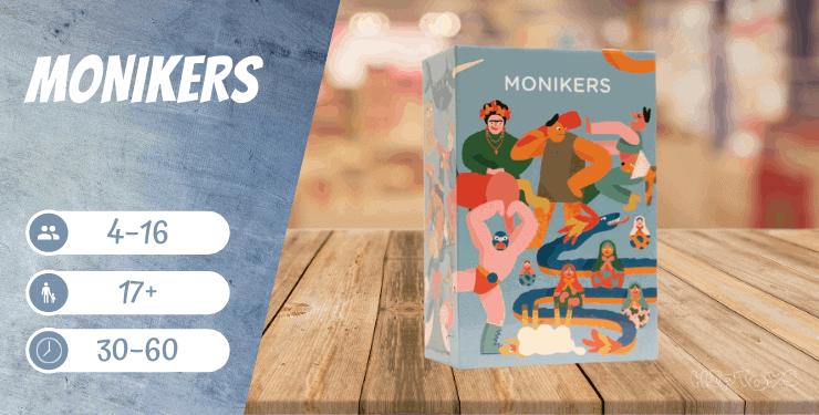 Monikers Spiel