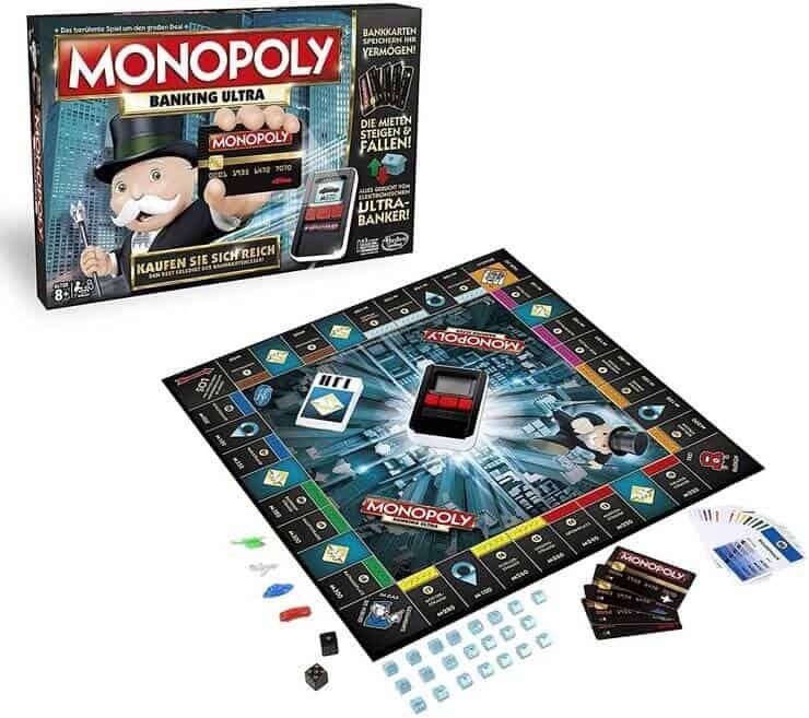 Monopoly Spieleranzahl