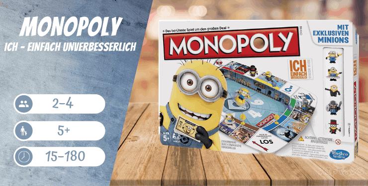 Monopoly Ich - Einfach Unverbesserlich Spiel-Empfehlung