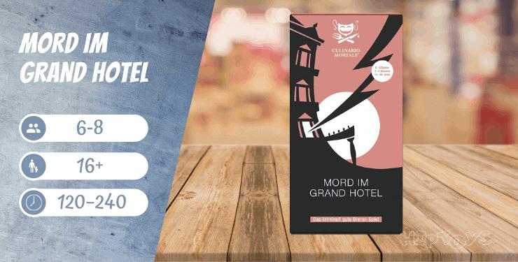 Mord im Grand Hotel - Spiel-Empfehlung