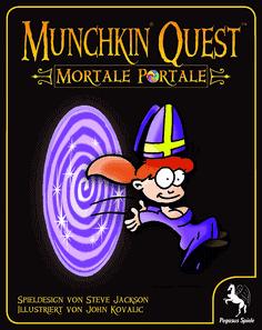 Munchkin Quest Portale Mortale Erweiterung