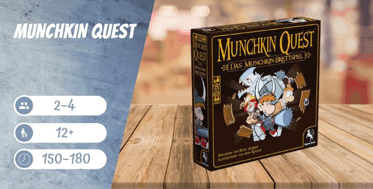 Munchkin Quest Spiel-Empfehlung