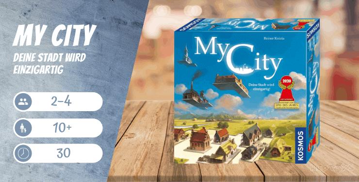 My City Deine Stadt wird einzigartig - Familienspiel