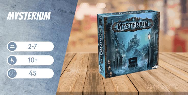 Mysterium Brettspiel für Erwachsene