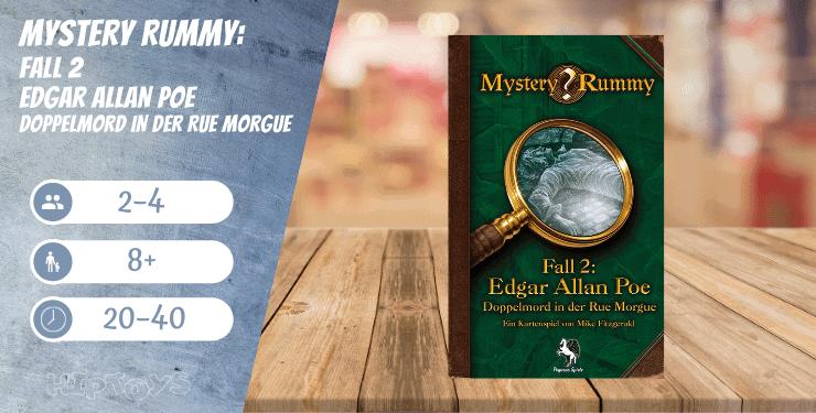 Mystery Rummy Fall 2 – Edgar Allan Poe – Doppelmord in der Rue Morgue Spiel-Empfehlung