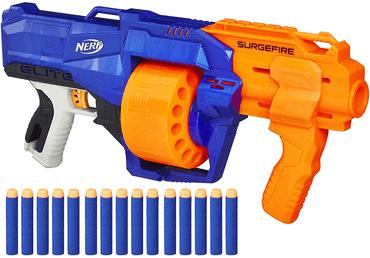 N-Strike Elite Surgefire Spielzeugblaster, mit Trommelmagazin