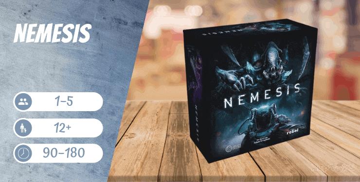 Nemesis Brettspiel