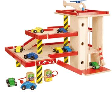 Nemmer - großes Kinder-Parkhaus aus Holz