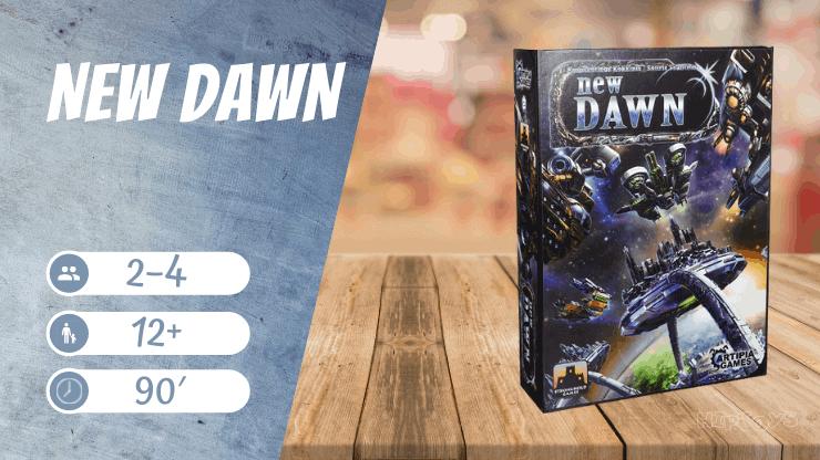 New Dawn Brettspiel