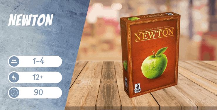 Newton Brettspiel