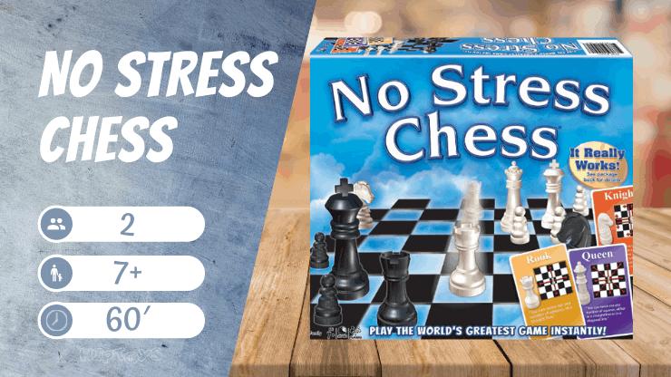 No Stress Chess Brettspiel