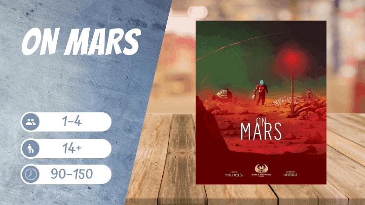 On Mars Brettspiel