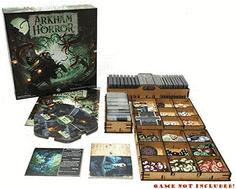Organizer Insert for Arkham Horror 3rd Edition Box - Einsatz