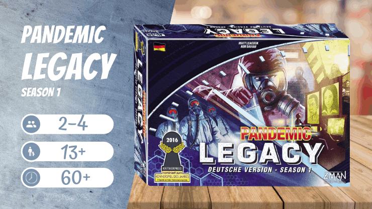 Pandemic Legacy Saison 1 - Kooperatives Brettspiel