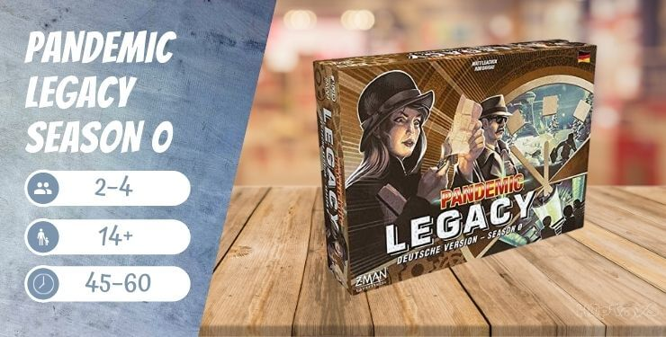 Pandemic Legacy-Season 0 Brettspiel