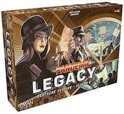 Pandemic Legacy-Season 0 Spiel