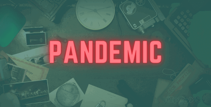 Pandemic (Pandemie) - kooperatives Brettspiel