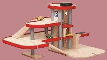Parkhaus aus Holz von Plantoys