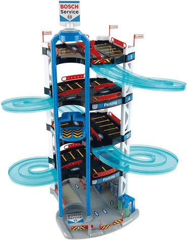 Parkhaus für Kinder mit Aufzug Theo Klein Bosch Car Service Parkhaus