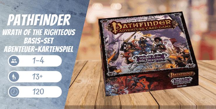 Pathfinder Wrath of The Righteous Basis-Set Abenteuer-Kartenspiel