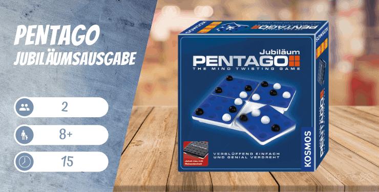 Pentago - Jubiläumsausgabe Kinderspiel ab 8 Jahren