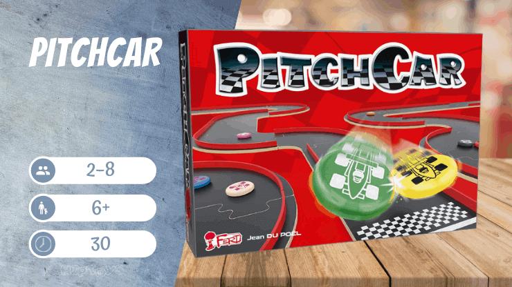 Pitchcar Brettspiel