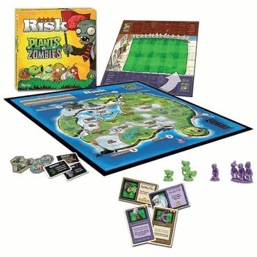 Plants vs Zombies Brettspiel - Risiko