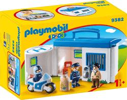 Playmobil 123 - Meine Mitnehm-Polizeistation Spiel
